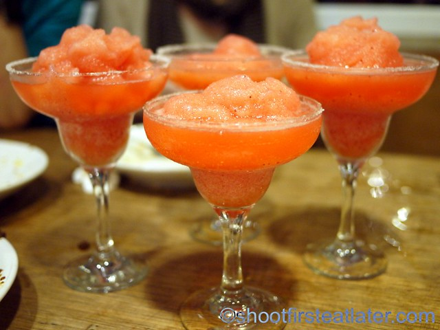 frozen strawberry Margarita P195