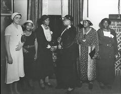'Scottsboro Boys' Mothers: 1934