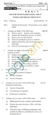 UPTU BHMCT Question Papers -BHM-402-Food & Beverage Service-IV