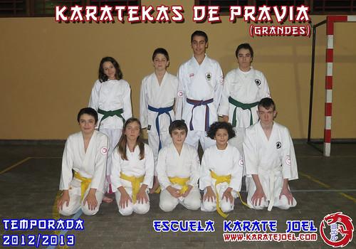 Karatekas de Pravia (grandes)