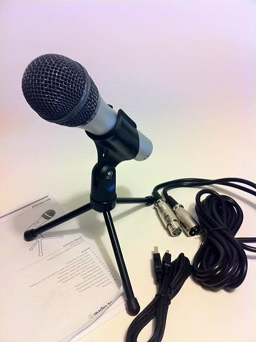New Media Gear 015: Audio-Technica ATR2100-USB Cardioid Dynamic USB/XLR Microphone (1/6)