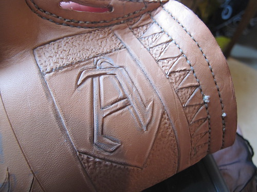 leather costrel 14