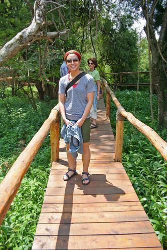 me at Ruzizi Tented Camp, Akagera