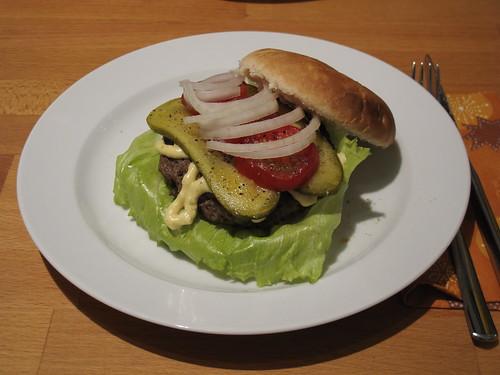 Do-it-yourself-Hamburger Variante 1