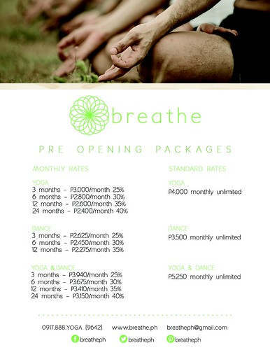 Yoga in Nuvali - Breathe Studio