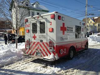 Fire response amidst blizzard response