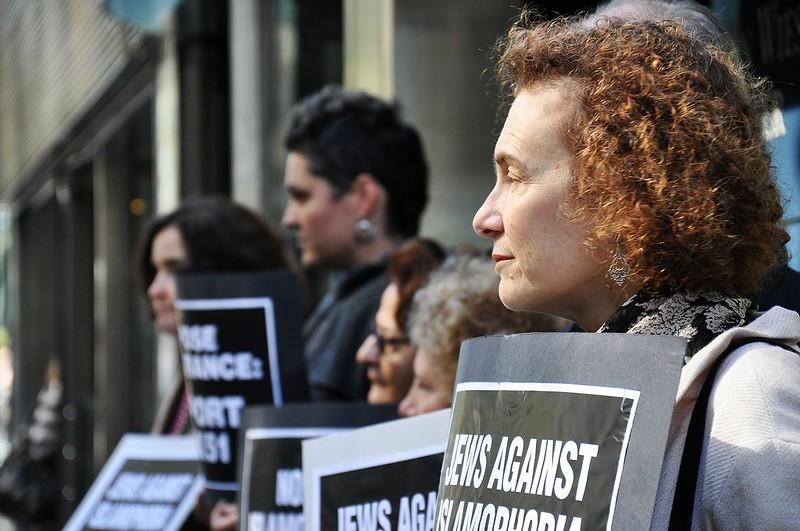 """Jews Against Islamophobia"" Protest"