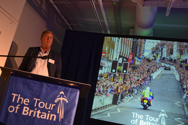 Hugh Roberts chief executive of the Tour of Britain