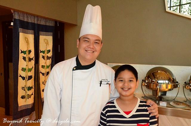 Senior Sous Chef Daniel Tan & Gabby