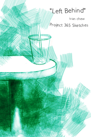 """""""Left Behind"""" (#10: Project 365 Sketches)"""