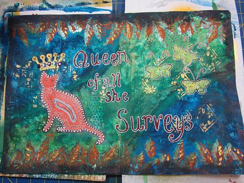 Queen of All She Surveys