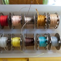 DIY Sewing Bobbin Clips / Bands