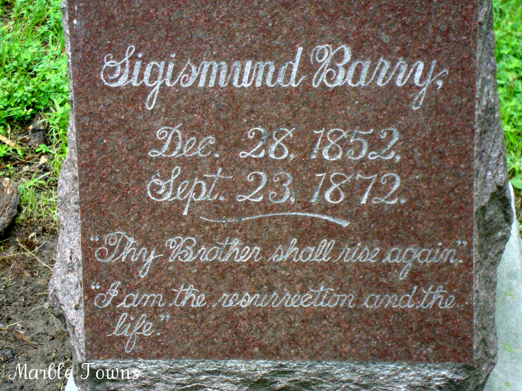 Oak Ridge Cem-Barry marker.JPG