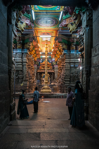 Meenakshi temple at Madurai