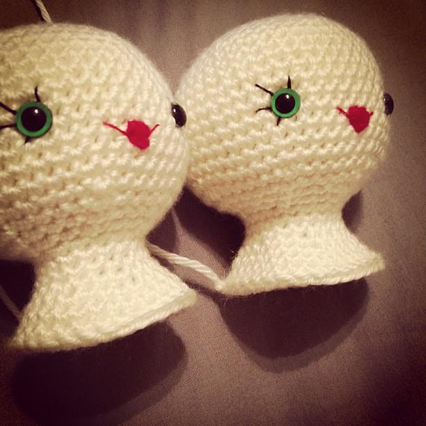 Shhhh...it's a secret #supersecretproject #amigurumi #crochet #roxycraft