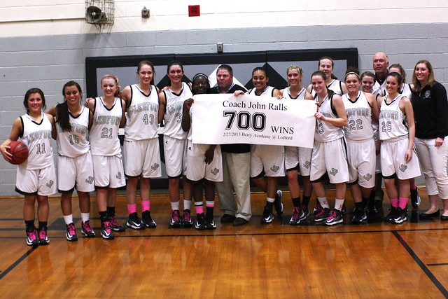 John Rall's 700th Win