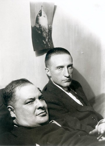 man ray 1920 joseph stella et marcel duchamp fb_473