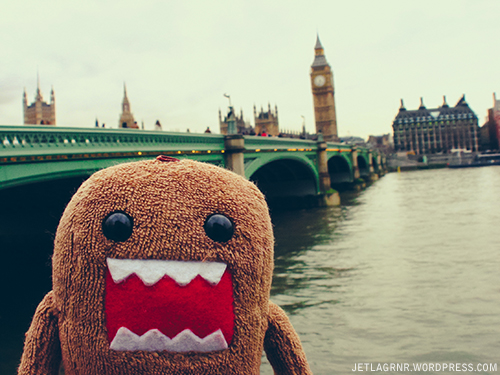 domo at westminster bridge