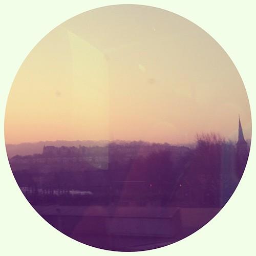 Early morning glow #sky