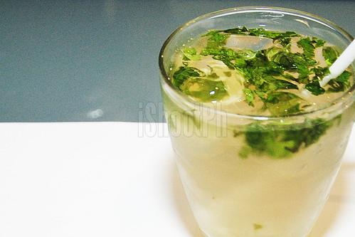 Lemon Grass Ice Tea.