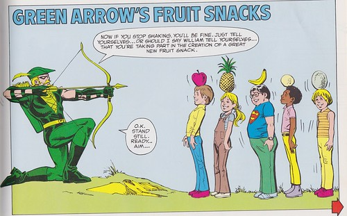 green arrow fruit