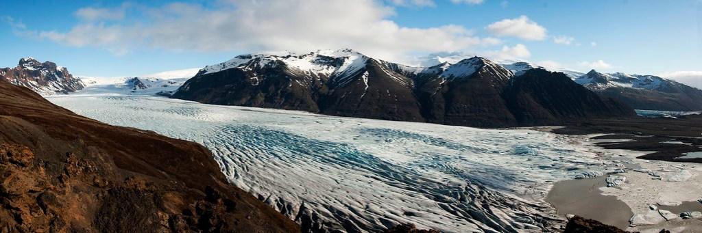 Skaftafellsjökull Panorama