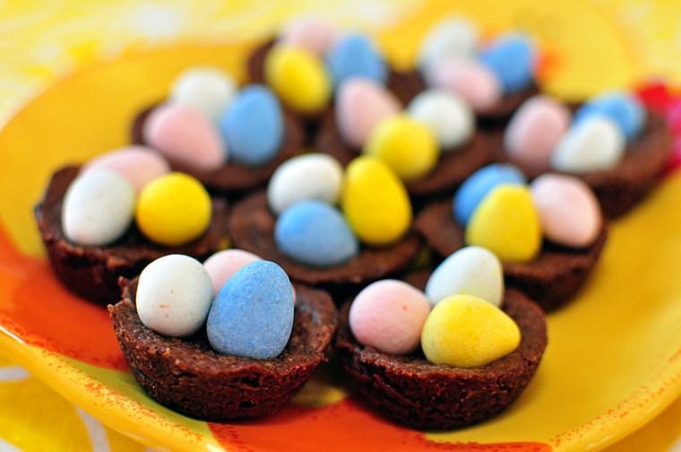 Brownie Nests 1