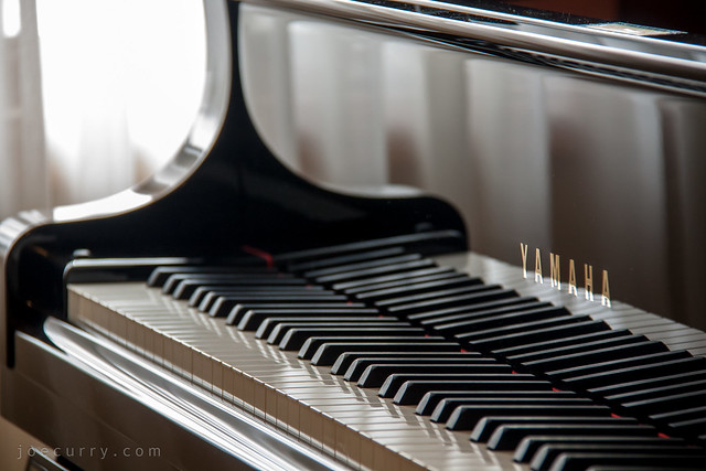 Yamaha grand piano C7X