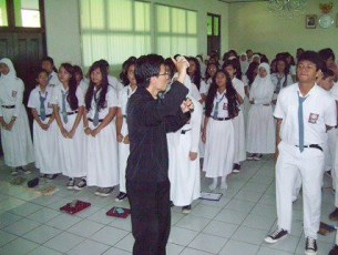 Seminar Motivasi Perencanaan Hidup @ SMAN 9 Jakarta