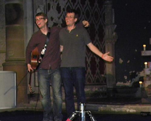 Hank and John Green