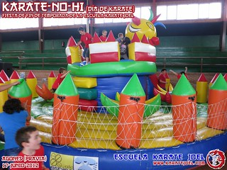 Hinchable de Plaza Multijuego