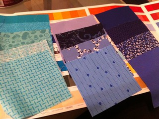 2012.01.03 - Planning a new quilt.