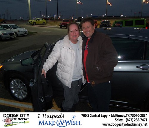 Congratulations to Larry Kelly on the 2013 Chrysler 200 by Dodge City McKinney Texas
