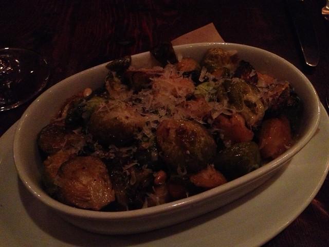 Crispy brussels sprouts - Wayfare Tavern
