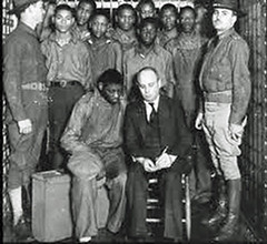 'Scottsboro Boys' with Attorney Leibowitz: 1933