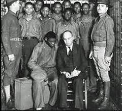 'Scottsboro Boys' with Attorney Leibowitz: 1933