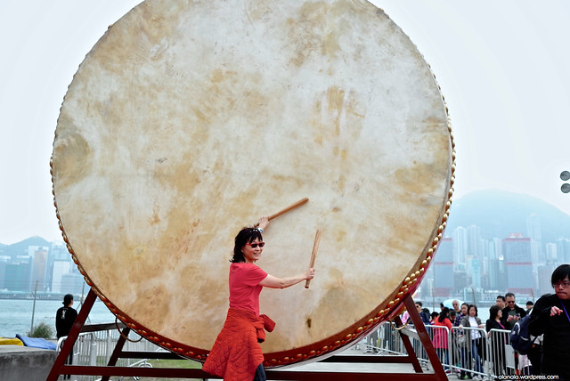 Huge drum