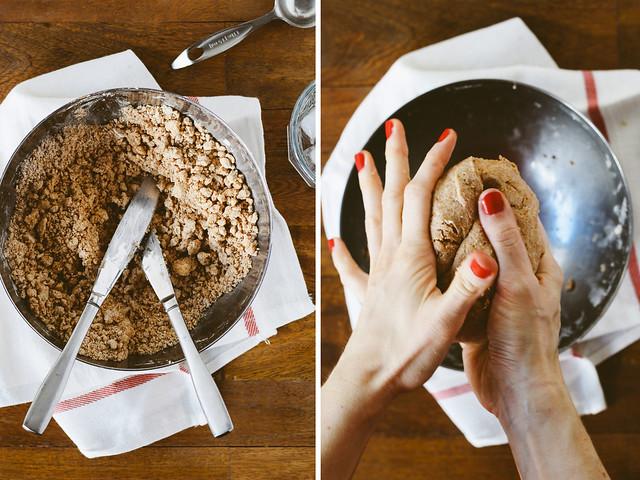 Making spelt dough