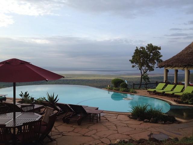 Lake Manyara Serena Infinity Pool