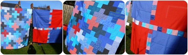 Jonah's quilt Mar13
