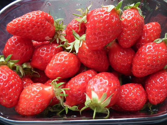 Strawberries, Paris