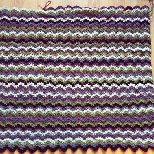 #wip #crochet #blanket #afghan