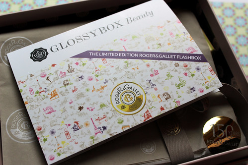 Roger and Gallet flash box card 2