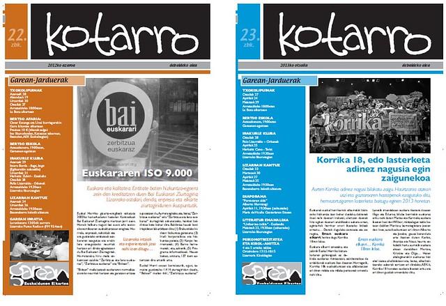 Kotarro aldizkariak
