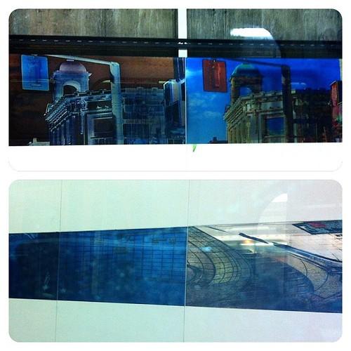 I like seeing these at the #ttc#pape#station#subway#platform