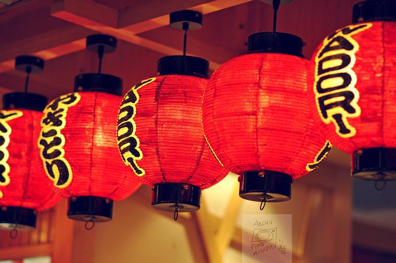Japanese lanterns
