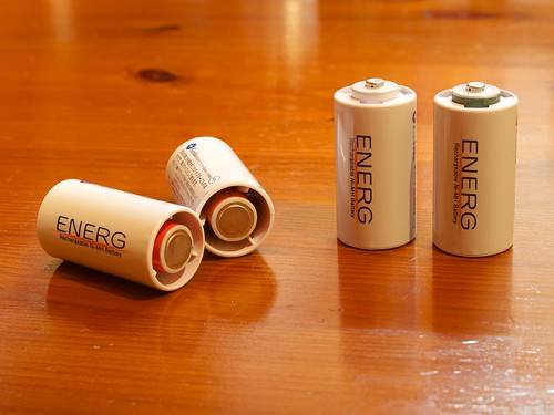 AA to C Battery Adapters