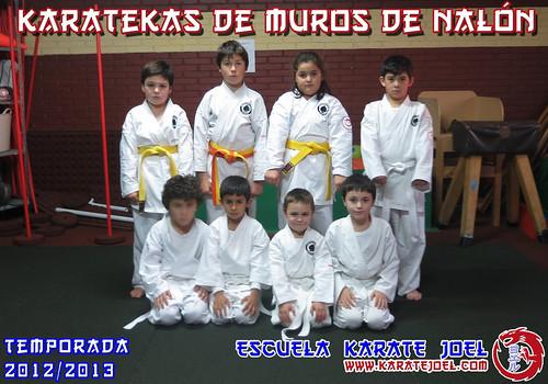 Karatekas de Muros de Nalón