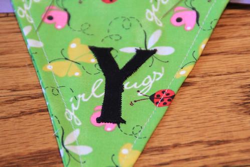 """""""Y"""" pennant"""