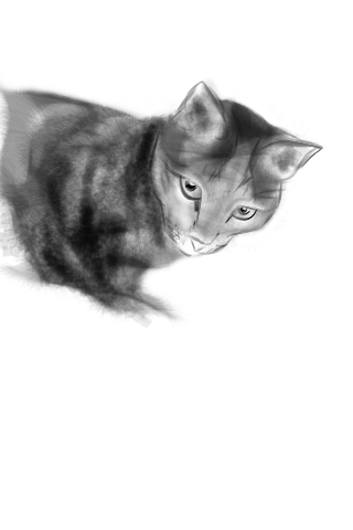 "Tutorial - ""Seah's Cat"" (#13: Project 365 Sketches)"
